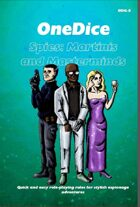 OneDice Spies: Martinis and Masterminds
