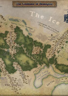 Winter of the World - Continent of Brasayhal Map
