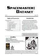 Spacemaster DataNet #3