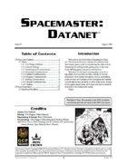 Spacemaster DataNet #3