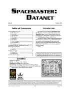 Spacemaster DataNet #4