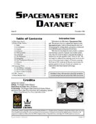 Spacemaster DataNet #5