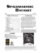 Spacemaster DataNet #6