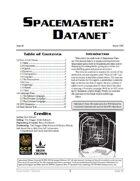 Spacemaster DataNet #6