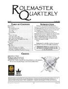 Rolemaster Quarterly #3