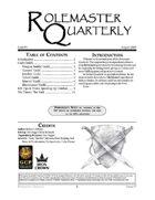 Rolemaster Quarterly #7