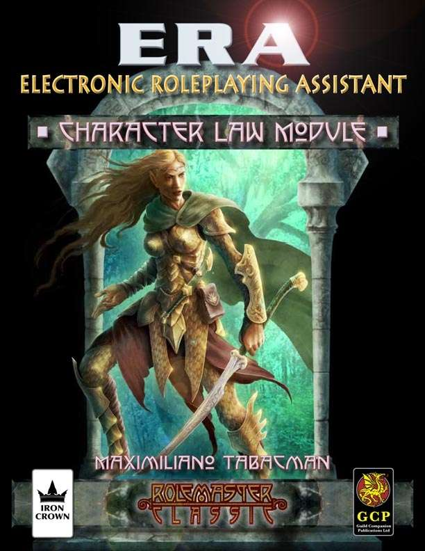 ERA for Rolemaster RMC Character Law