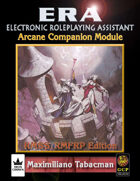 ERA for Rolemaster RMSSFRP Arcane Companion