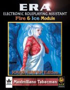ERA for Rolemaster RMSSFRP Fire and Ice The Elemental Companion