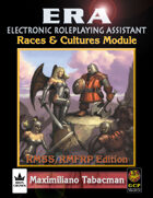 ERA for Rolemaster RMSSFRP Races & Cultures
