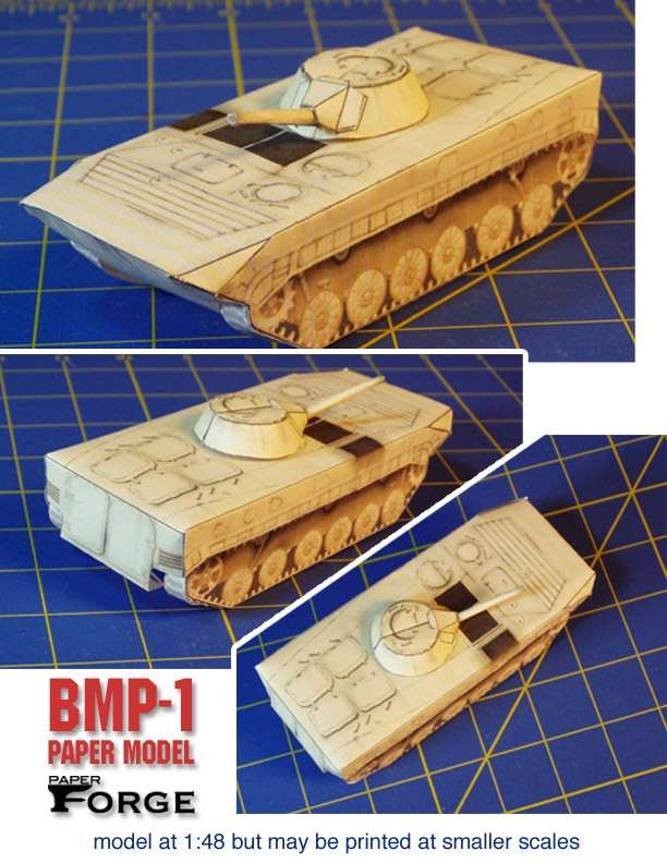 Bmp 1 paper model paper forge modern vehicles rpgnow publicscrutiny Choice Image