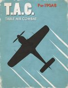 Table Air Combat:  Fw-190A8