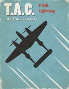 Table Air Combat: P-38L Lightning