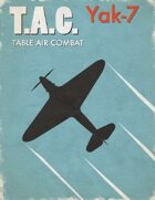 Table Air Combat: Yak-7
