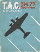 Table Air Combat: SM.79 Sparviero