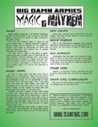 BDA: Magic & Mayhem
