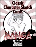 Classic Character Sketch Cards Set Three: Manga