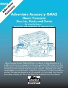 GMA2 - Classic Treasures: Pouches, Packs and Chests