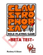 Claustrophobia! Role-Playing Game Beta