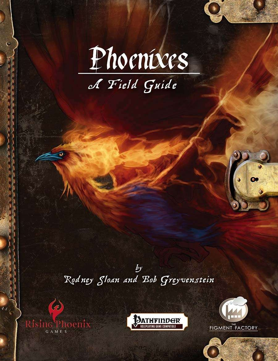 Phoenixes—A Field Guide, the cover.