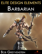 Elite Design Elements: Barbarian