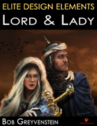 Elite Design Elements: Lord & Lady