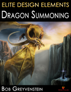 Elite Design Elements: Dragon Summoning