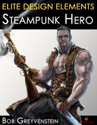 Elite Design Elements: Steampunk Hero Without Background