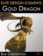 Elite Design Elements: Gold Dragon