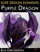 Elite Design Elements: Purple Dragon