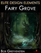 Elite Design Elements: Fairy Grove Background