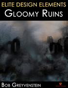 Elite Design Elements: Gloomy Ruins Background