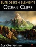 Elite Design Elements: Ocean Cliffs Background