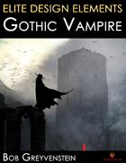 Elite Design Elements: Gothic Vampire Castle Background