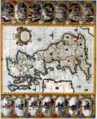 Antique Maps VI - Britain of the 1600's