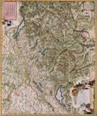 Antique Maps XV - Switzerland of the 1600's