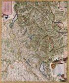 Antique Maps XV - Switzerland of the 1600's