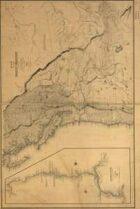 Antique Maps IIXX - Oregon Territory of the 1800's