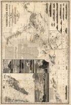 Antique Maps XXIIV - Hong Kong of the 1800's