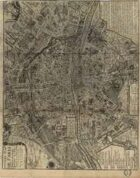 Antique Maps XXIV - Paris of the 1700's