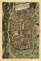 Antique Maps XXV - Jerusalem of the 1600's