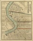 Antique Maps XXX - New Orleans of the 1800s