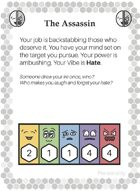 Personality Cards for Michtim RPG