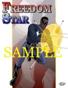 Joe Singleton's Art of The Superverse: Freedom Star in Action