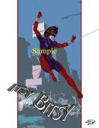 Joe Singleton's Art of The Superverse: Itsy Bitsy