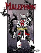 Joe Singleton's Art of The Superverse: Malephon