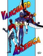 Joe Singleton's Art of The Superverse: Vanguard America