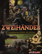 GM Screen - ZWEIHÄNDER Grim & Perilous RPG