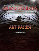 Art Pack (Cartouches) #GrimAndPerilous