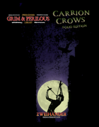 Carrion Crows: Folio Edition - Supplement for Zweihander RPG